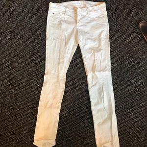 White Hudson Skinny Jeans size 28